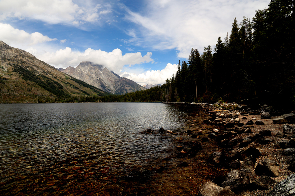 Jenny Lake, Grand Teton.