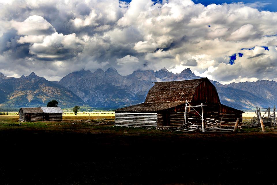 Barn on Mormon Way near Jackson.