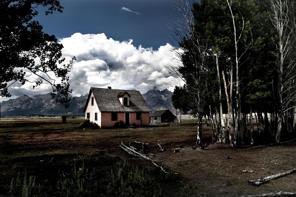 House on Mormon Way near Jackson.