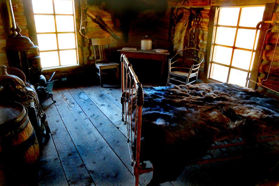 Butch Cassidy an the Sundance Kid Cabin.