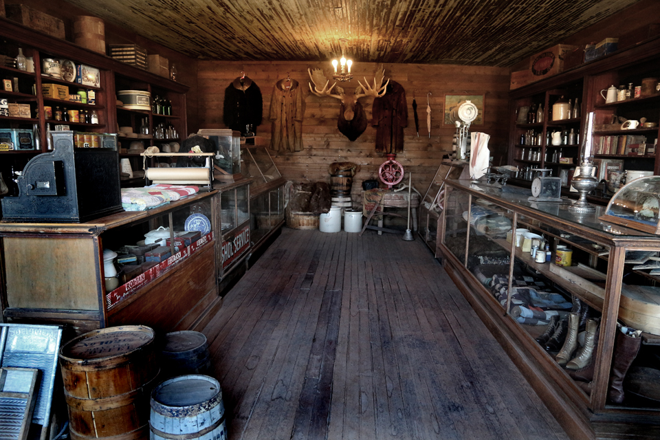 General Store at Cody Old Trail Town.