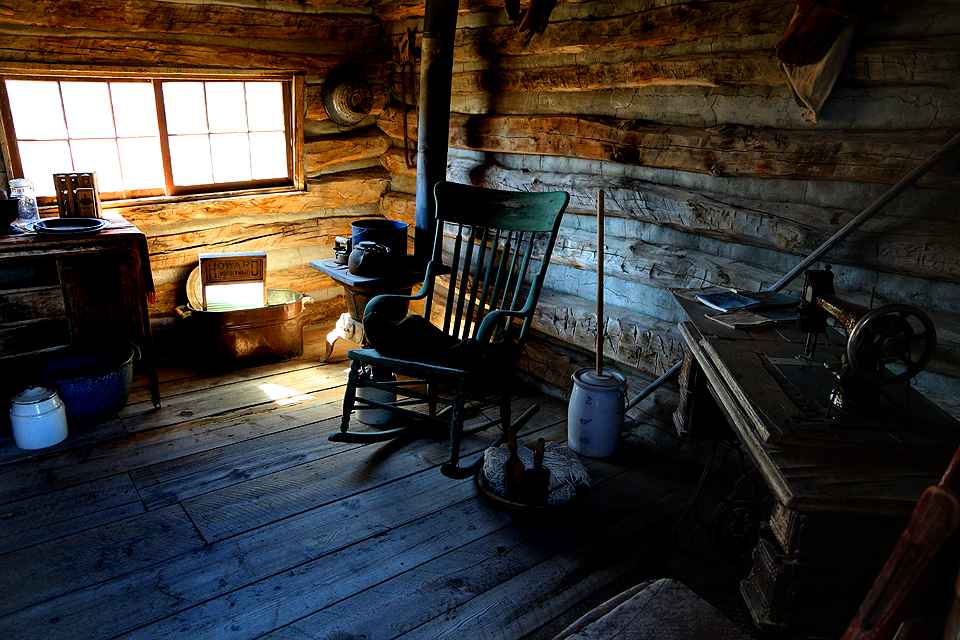 Settlers Cabin at Old Trail Town Cody