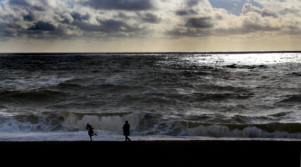 Brighton shoreline.
