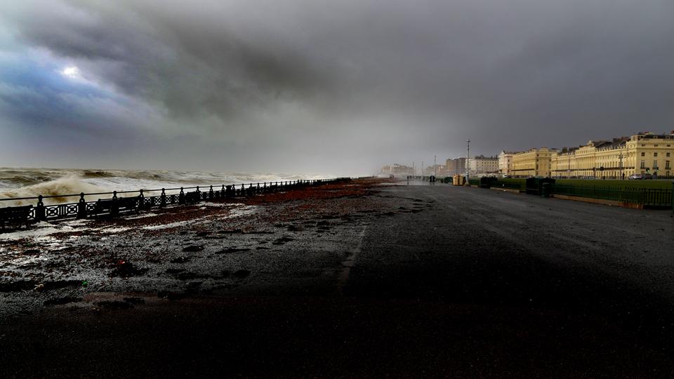 Brighton seafront.