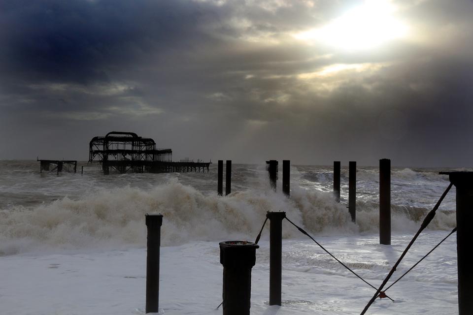 Brighton old pier.