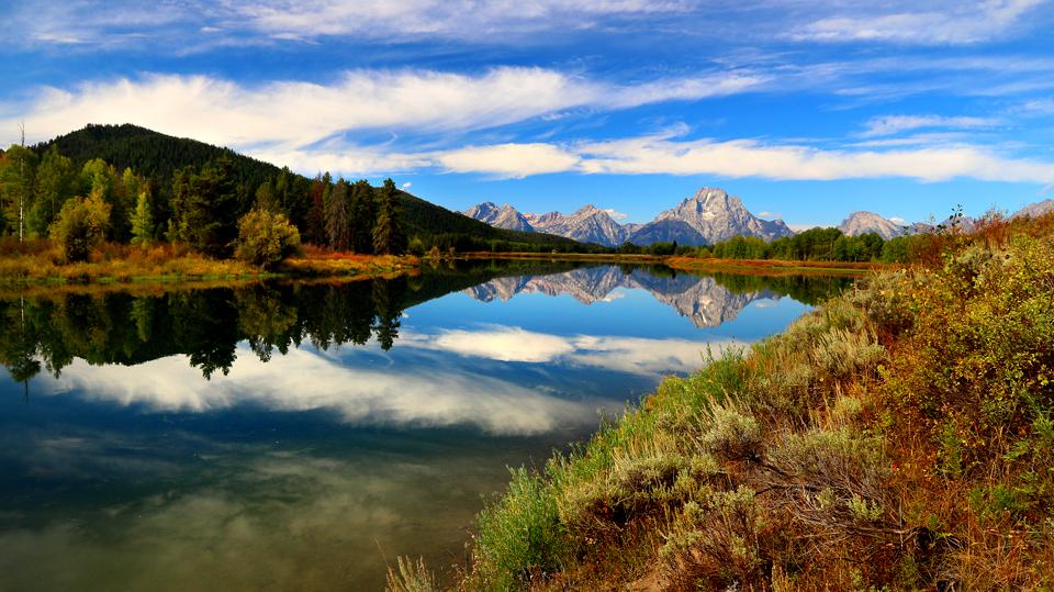 Grand Teton Mountain Range.