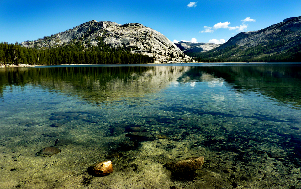 Tenaya Lake, Yosemite NP.