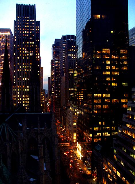 New York street view.