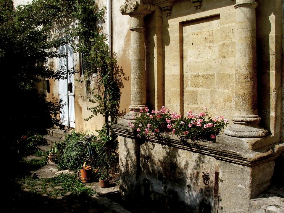 French street life, Dordogne.