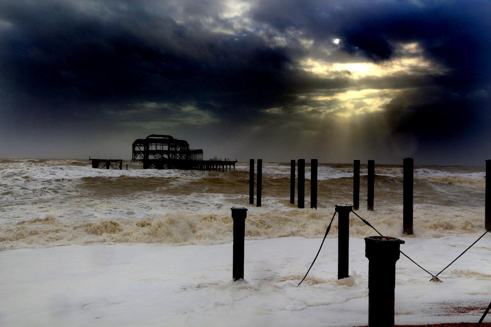 Brighton West Pier.