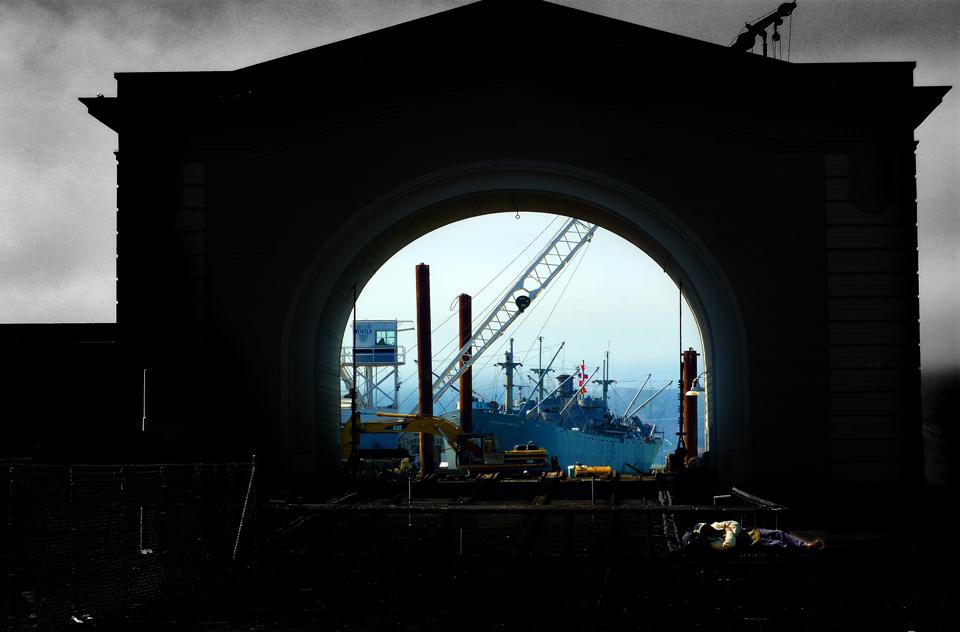 Pier 43. Ferry Arch. San Francisco.