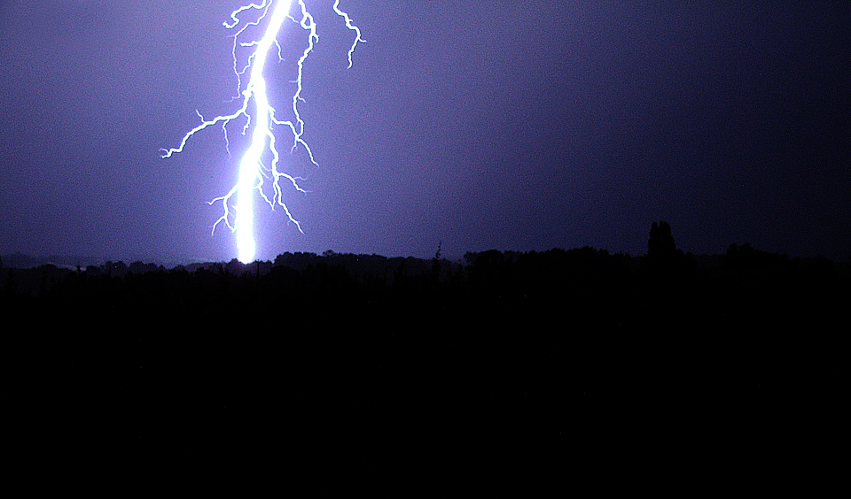 Lightning in the South of France