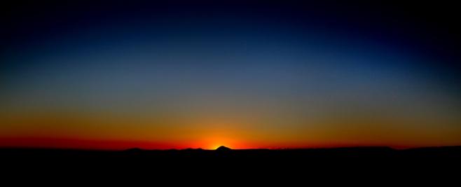 Mesa Verde sunset.
